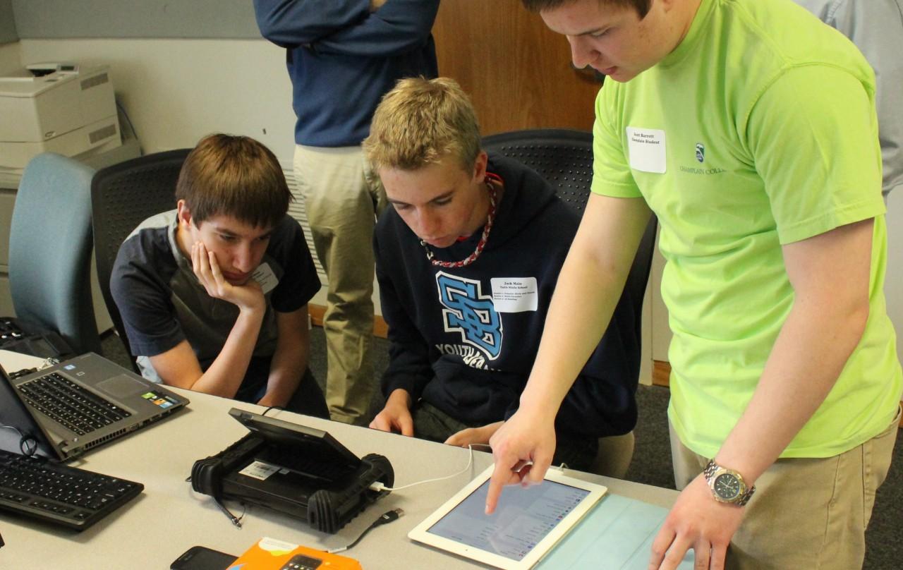 LCDI students at work