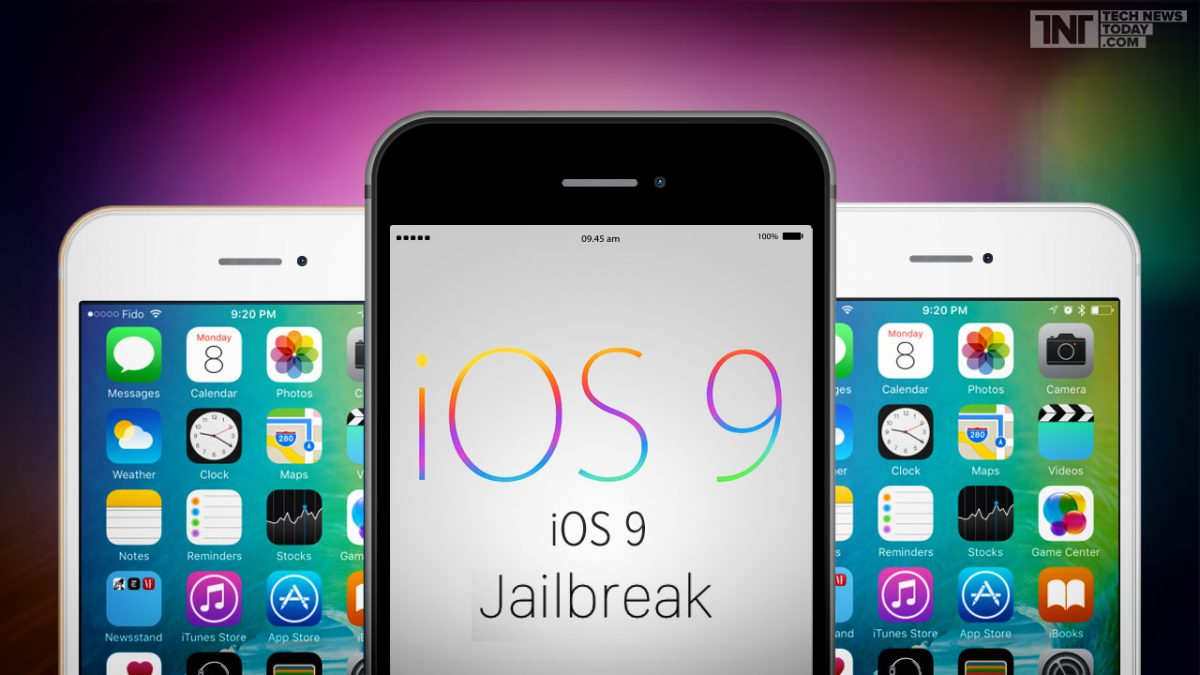 iOS 9 Jailbreak Black and White iPhones