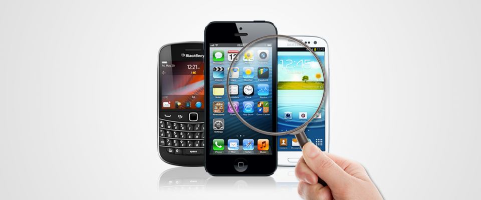 mobile forensics iPhone, Samsung Galaxy, and BlackBerry Smartphones