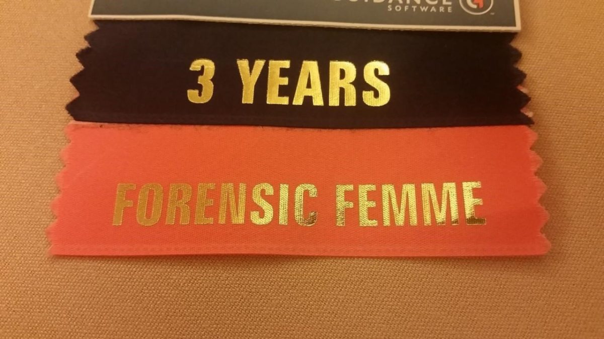 Enfuse 3 Year forensic Femme