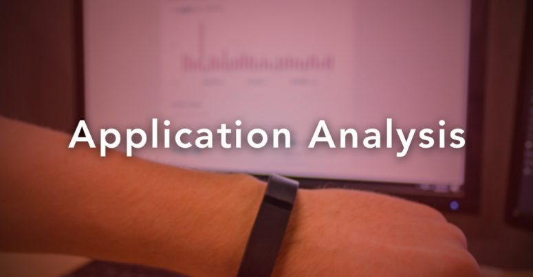 fitbit application analysis
